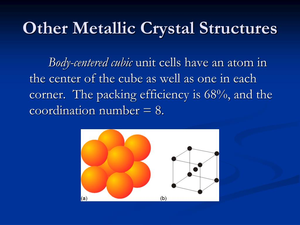 Other Metallic Crystal Structures