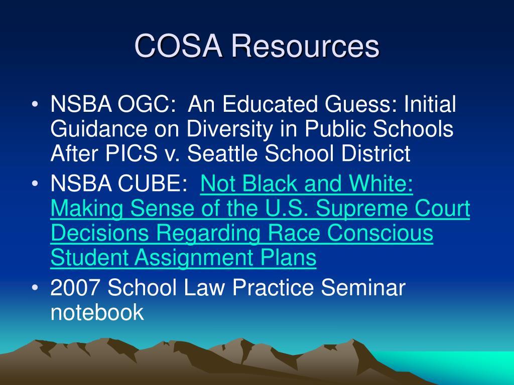 COSA Resources
