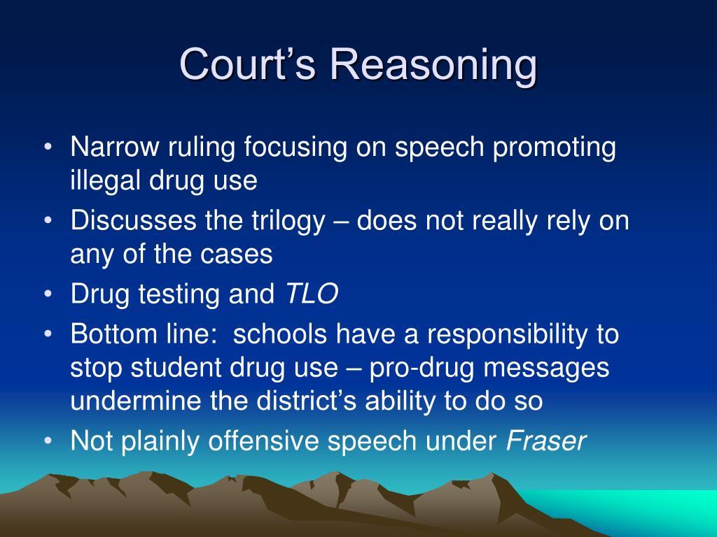 Court's Reasoning