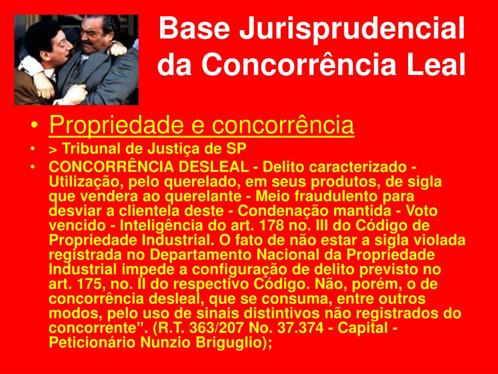 Base Jurisprudencial da Concorrência Leal