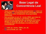 base legal da concorr ncia leal