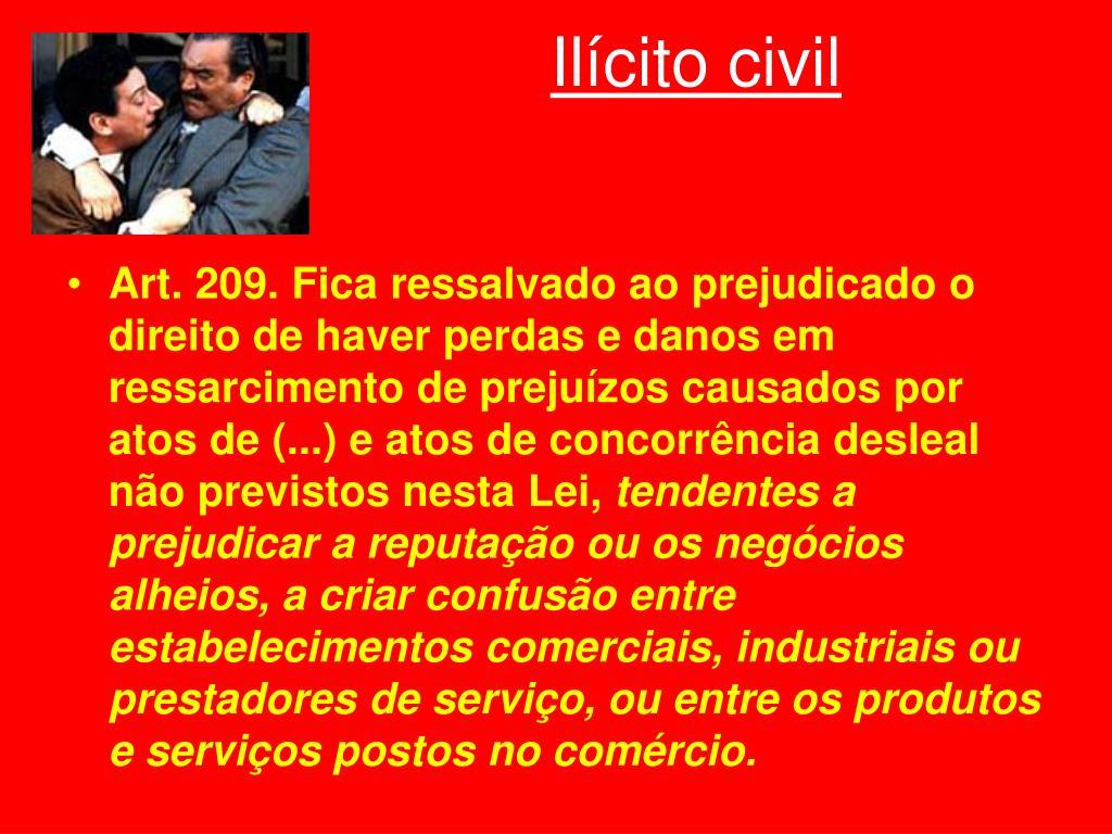 Ilícito civil