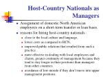 host country nationals as managers87