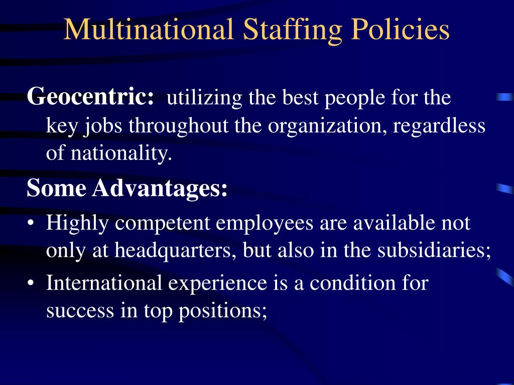 staffing top management positions in multinational Level guides, position descriptions and global grades  for legal positions, those  top management.