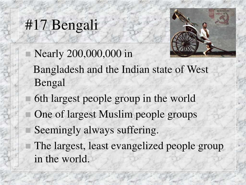 #17 Bengali