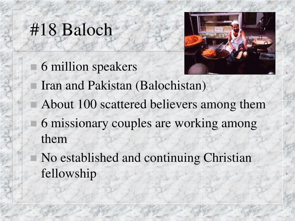 #18 Baloch
