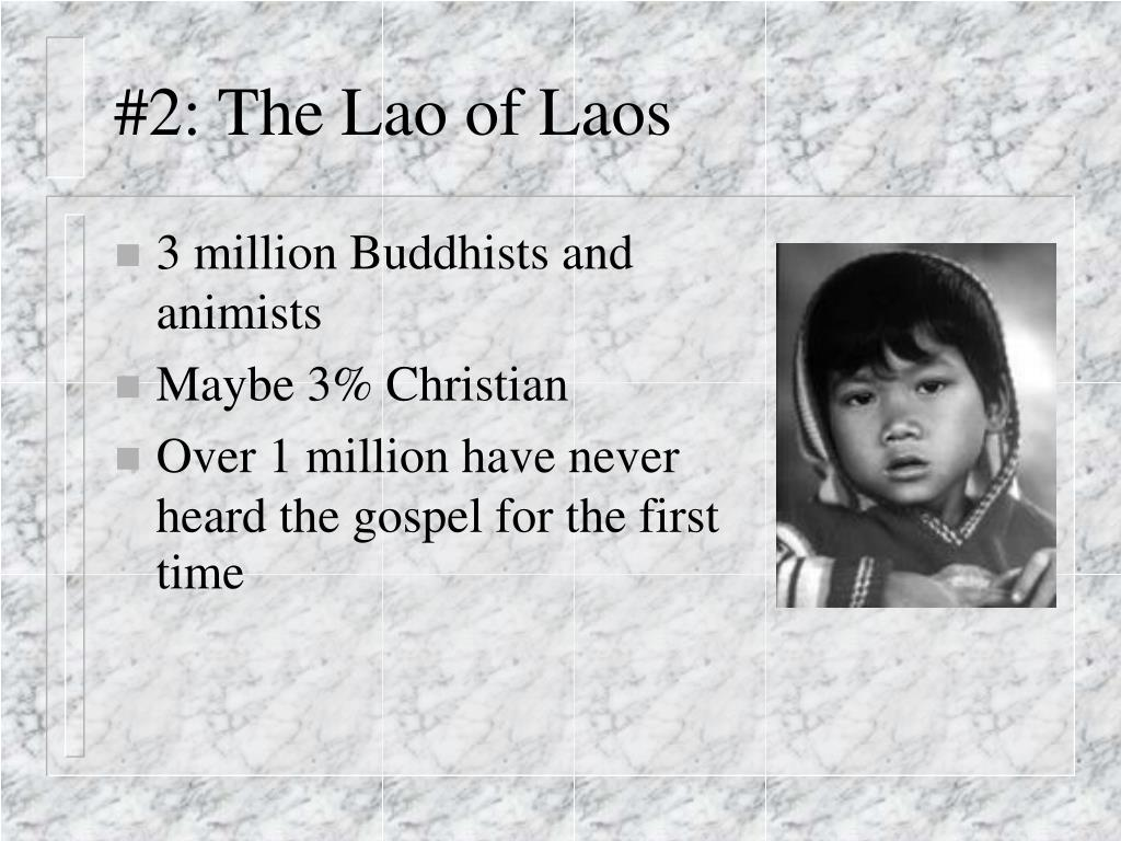 #2: The Lao of Laos