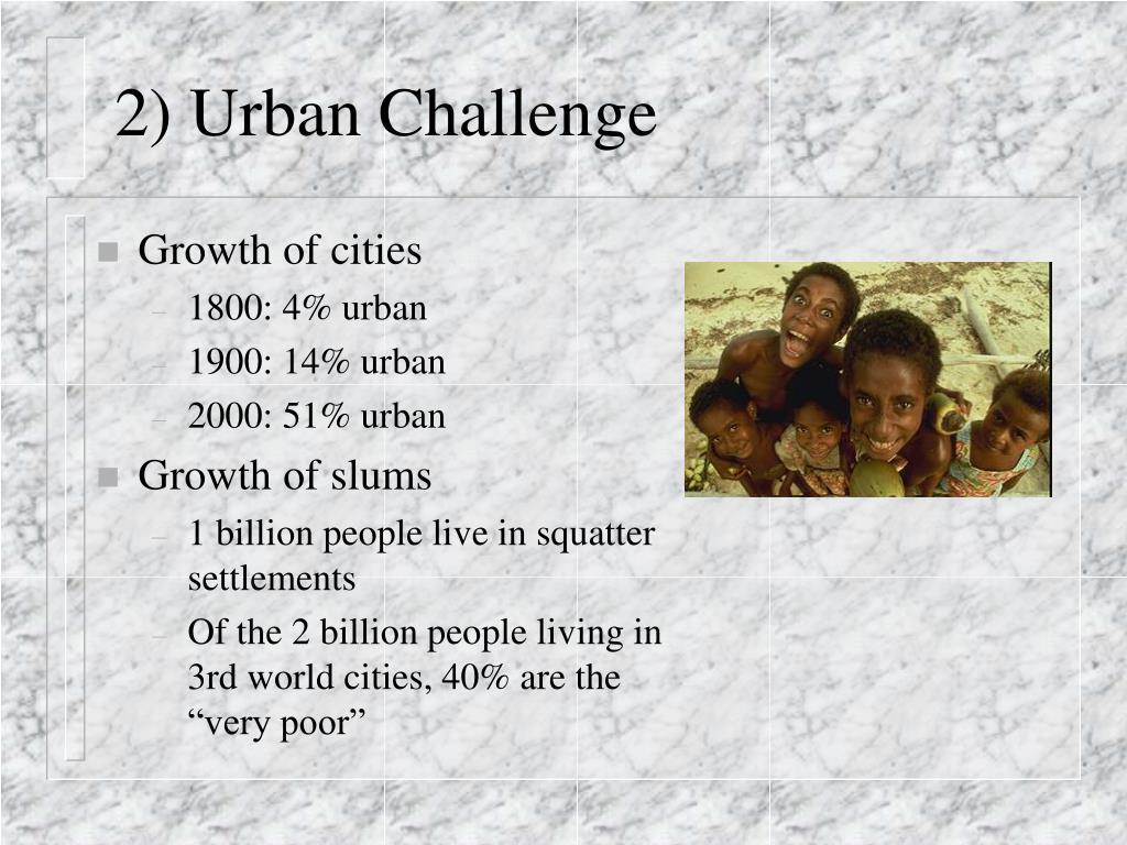 2) Urban Challenge