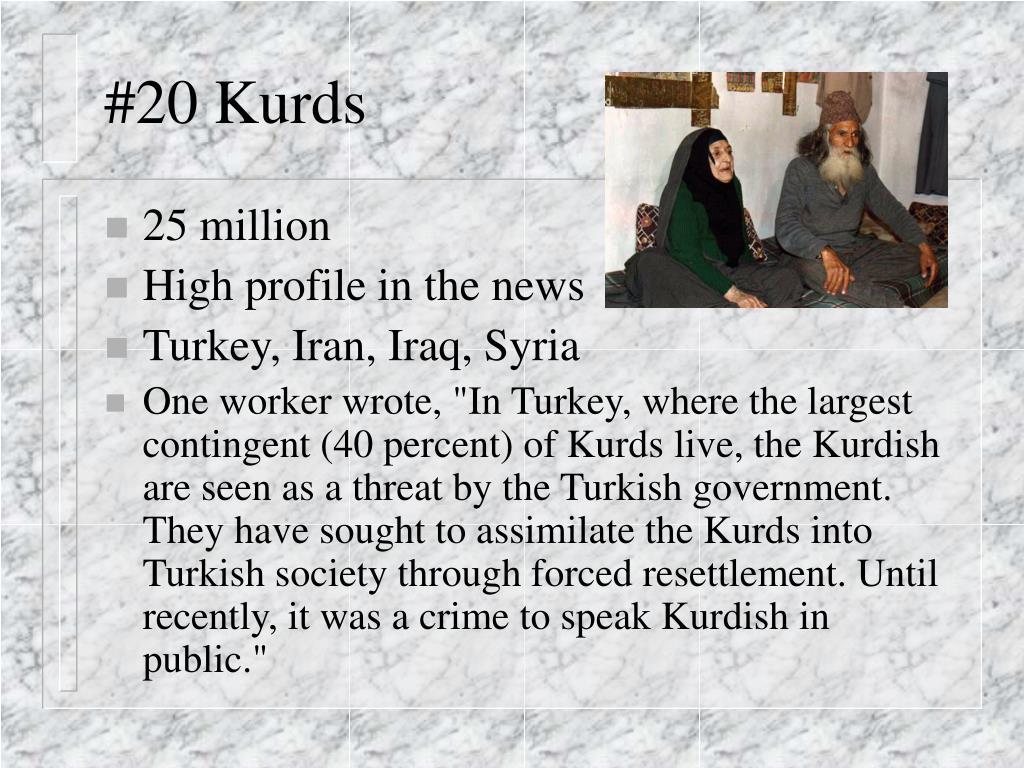 #20 Kurds