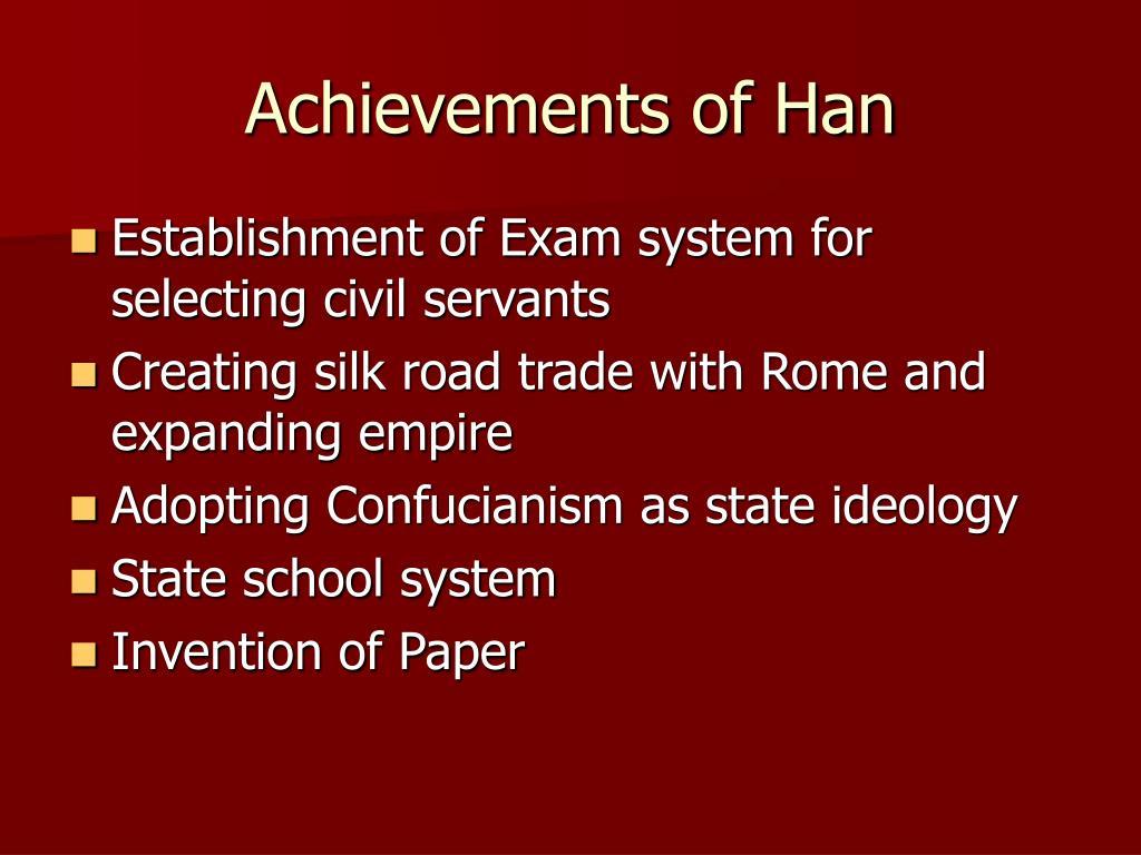Achievements of Han