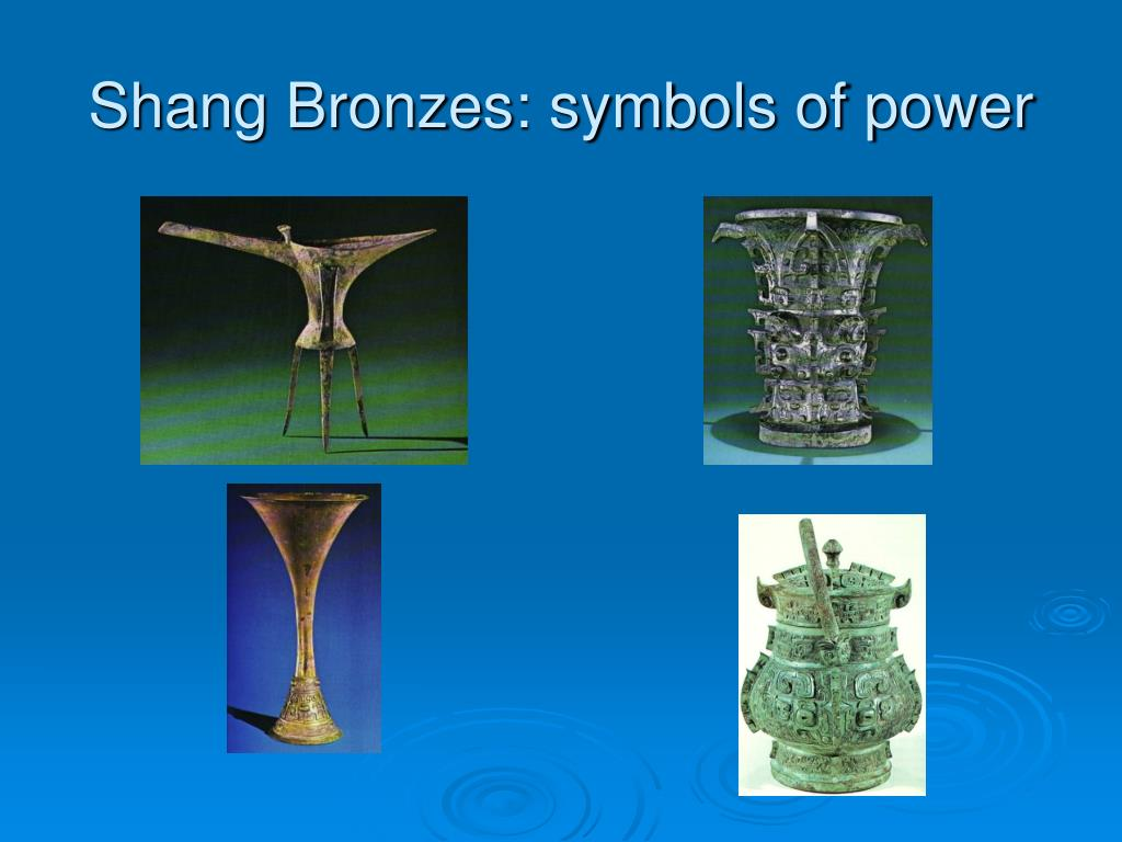 Shang Bronzes: symbols of power