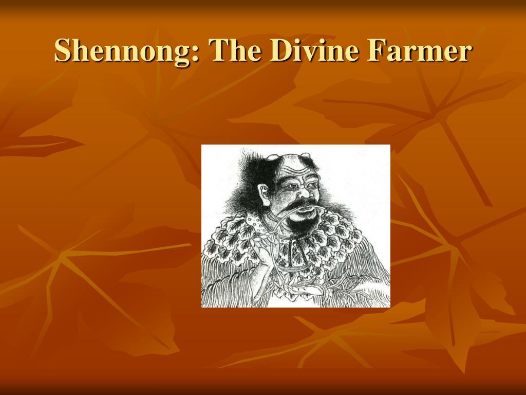 Shennong: The Divine Farmer