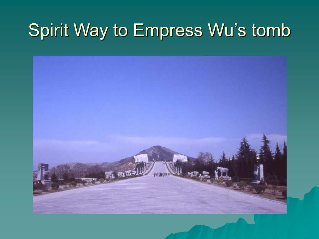 Spirit Way to Empress Wu's tomb