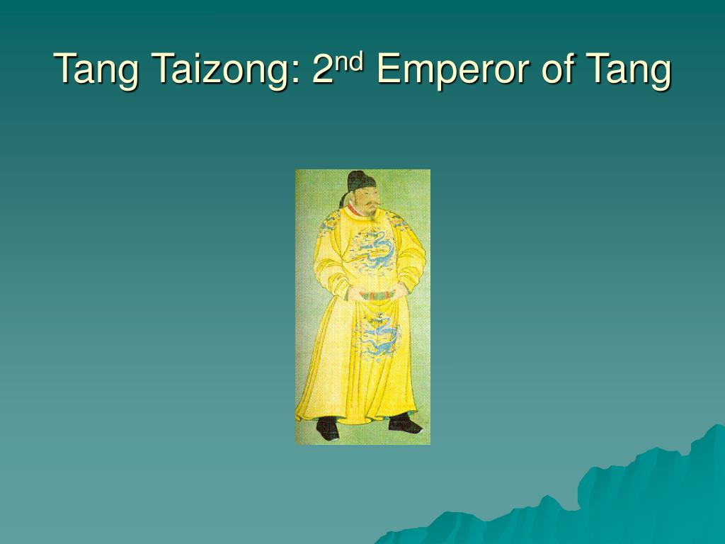 Tang Taizong: 2