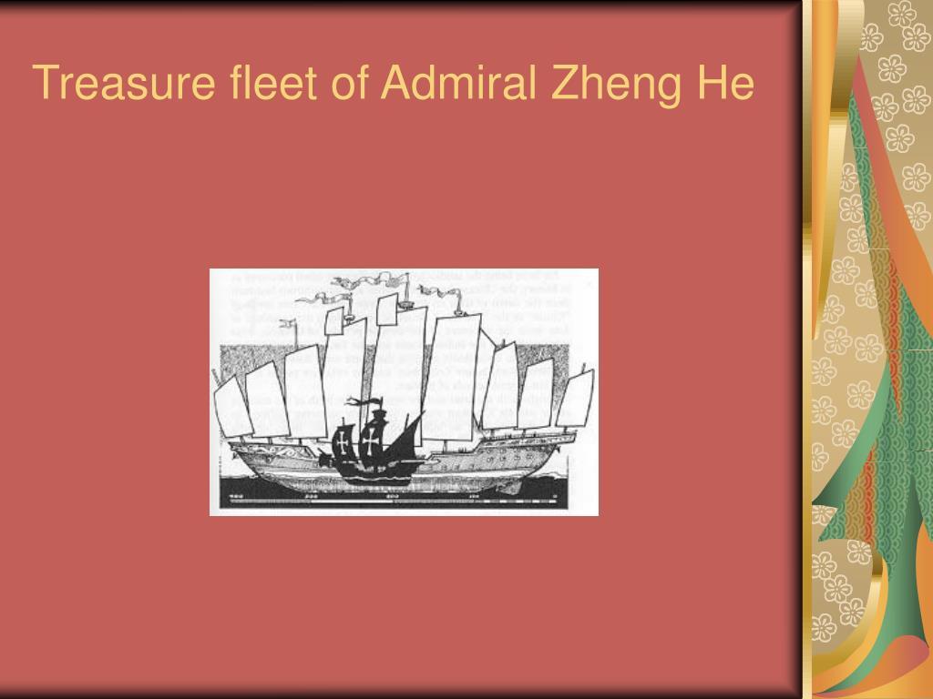 Treasure fleet of Admiral Zheng He
