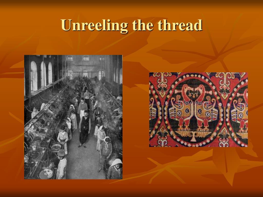 Unreeling the thread