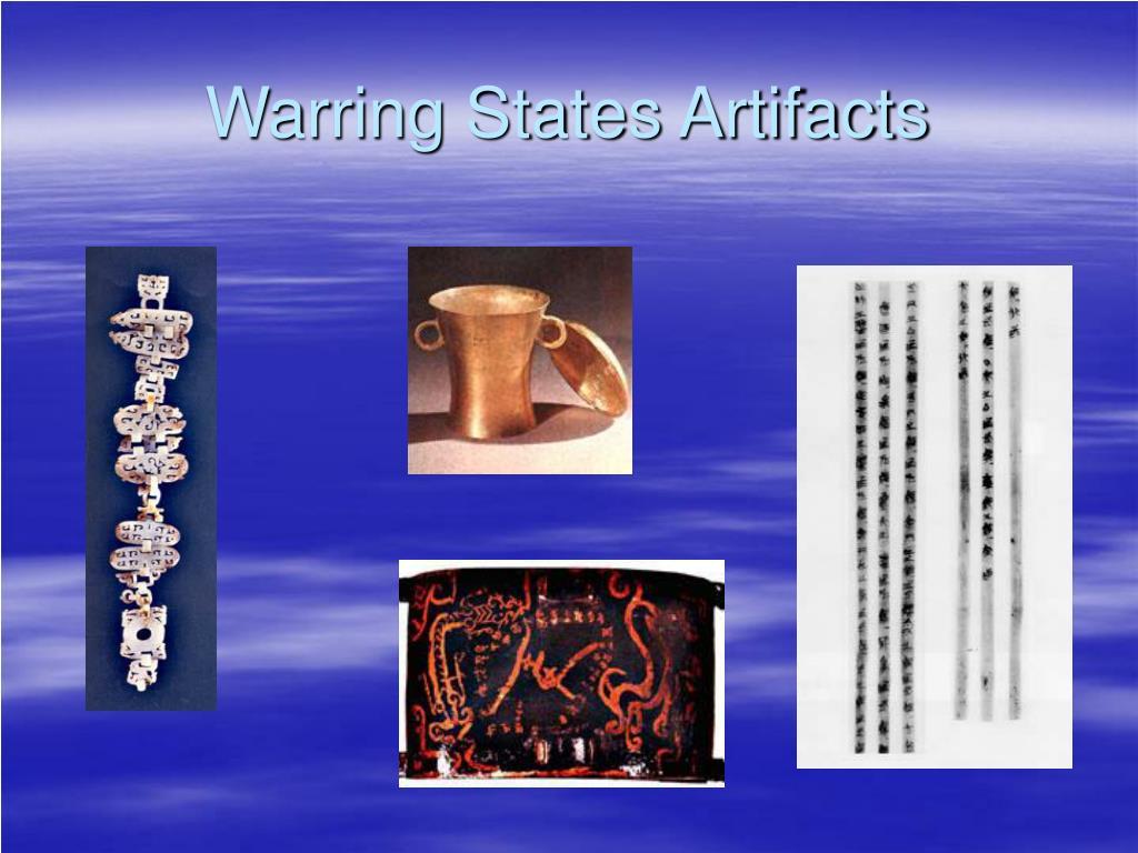 Warring States Artifacts
