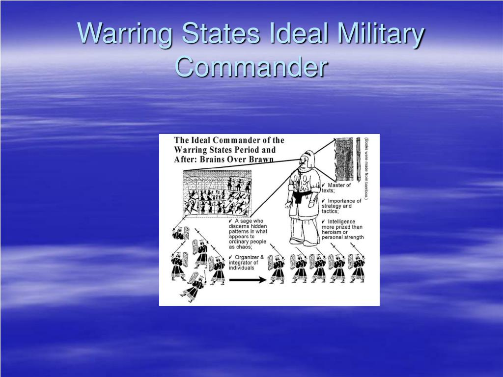 Warring States Ideal Military Commander