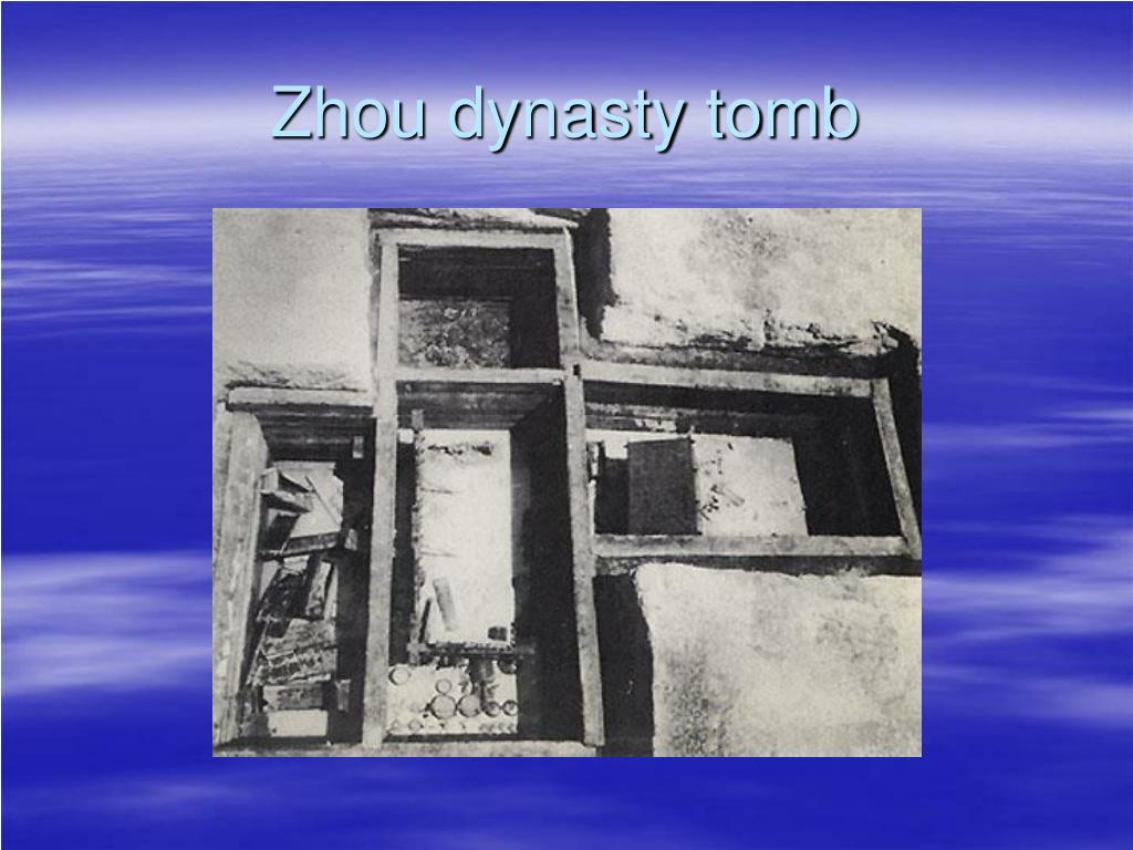 Zhou dynasty tomb