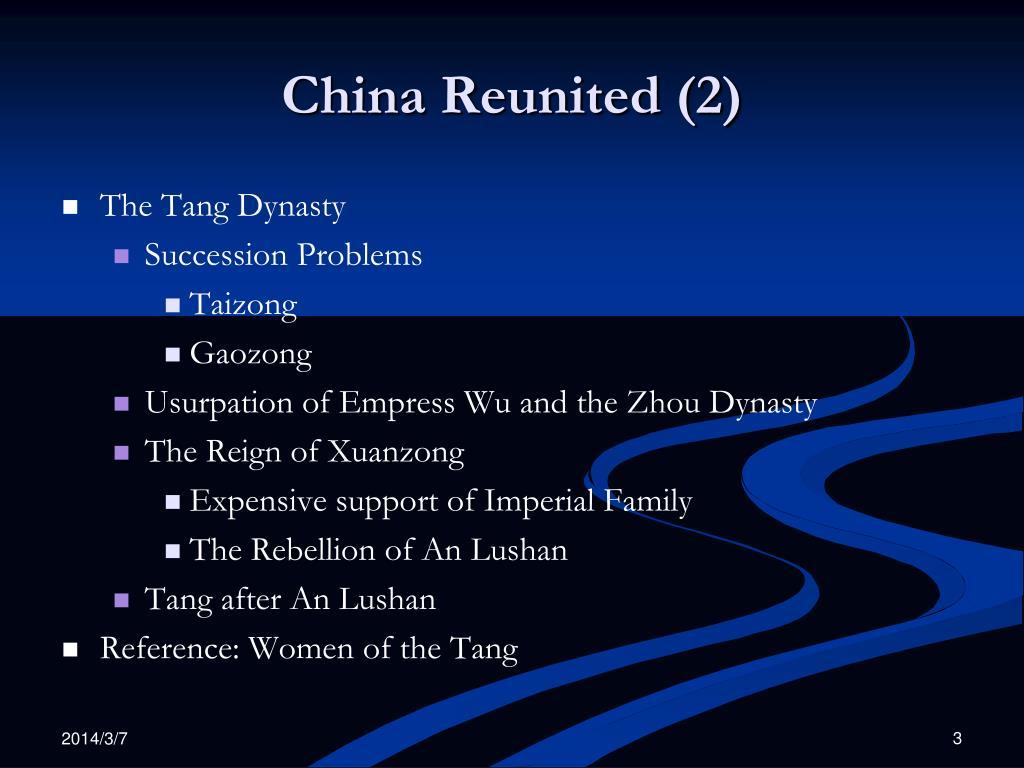 China Reunited (2)