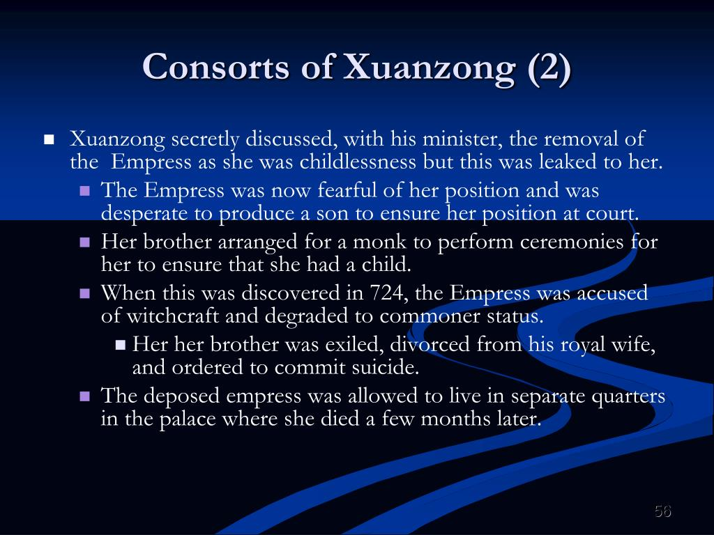 Consorts of