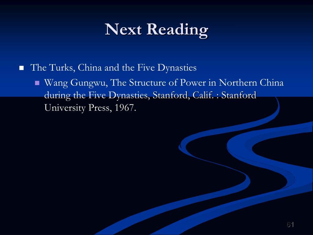 Next Reading