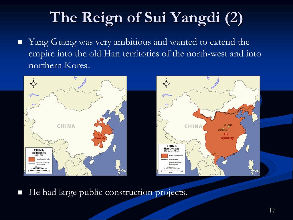 The Reign of Sui