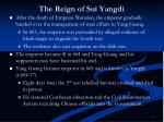 the reign of sui yangdi