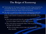 the reign of xuanzong