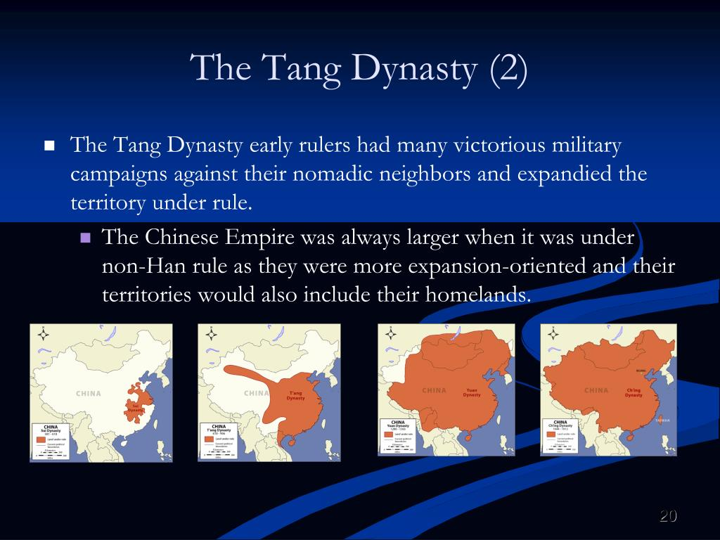 The Tang Dynasty (2)
