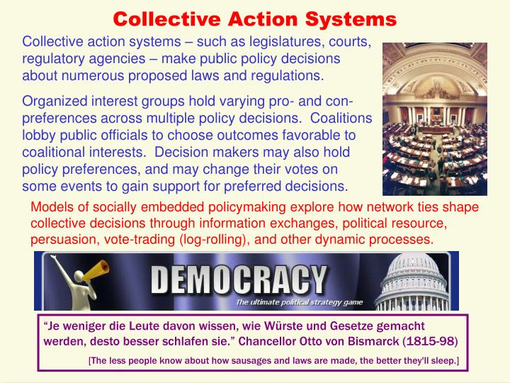 Collective Action Systems