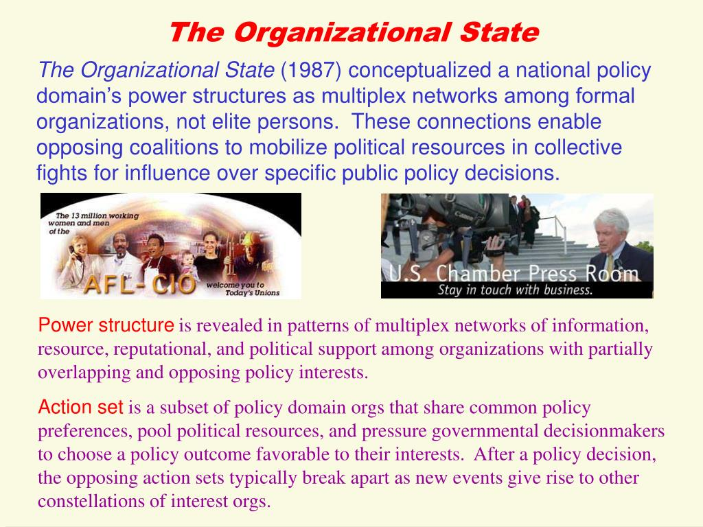 The Organizational State