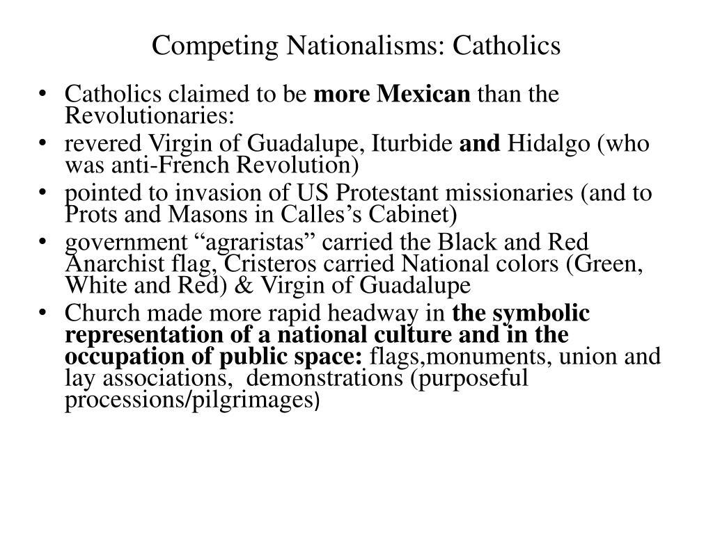 Competing Nationalisms: Catholics