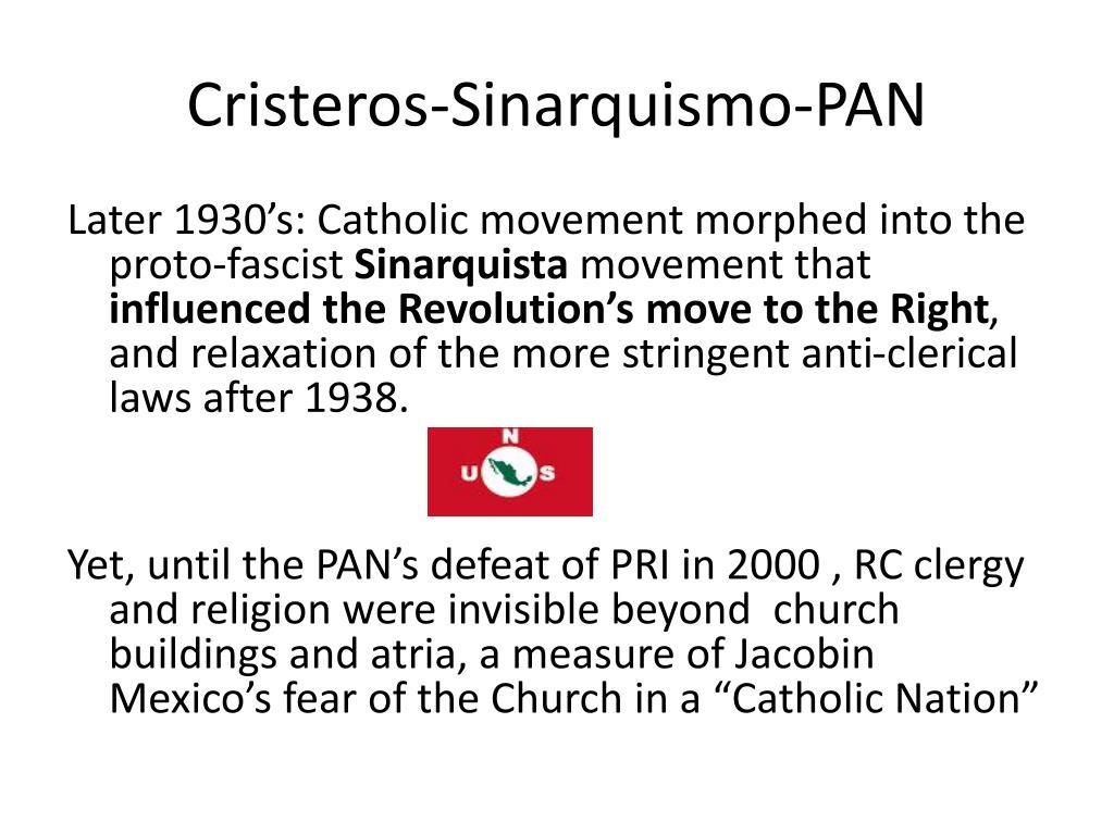 Cristeros-Sinarquismo-PAN