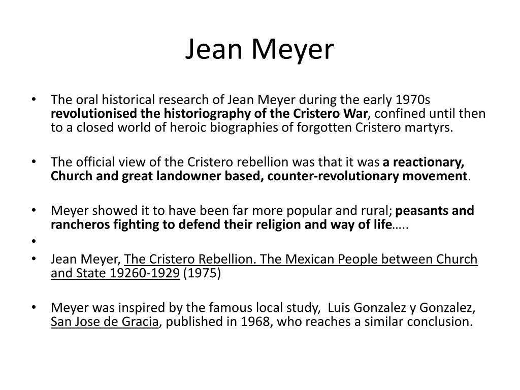 Jean Meyer