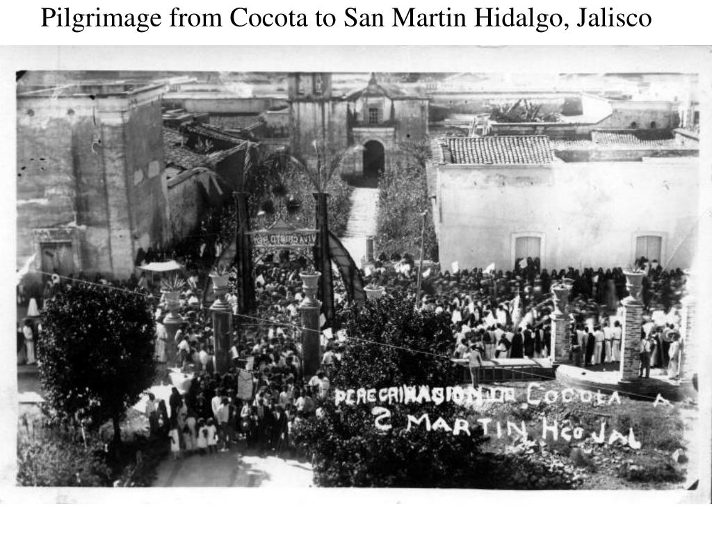 Pilgrimage from Cocota to San Martin Hidalgo, Jalisco