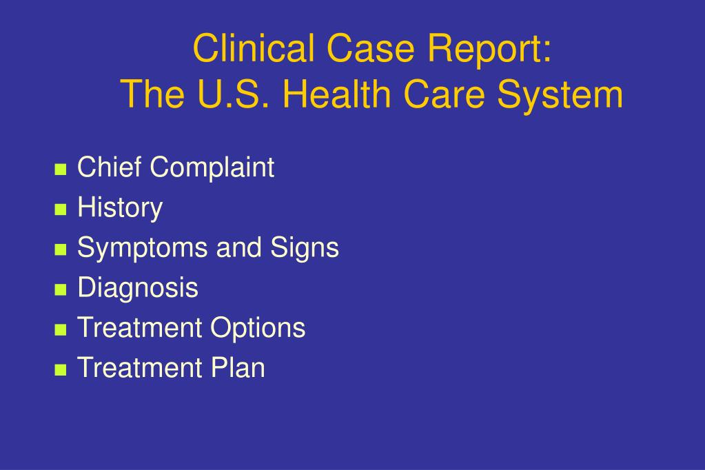 Clinical Case Report: