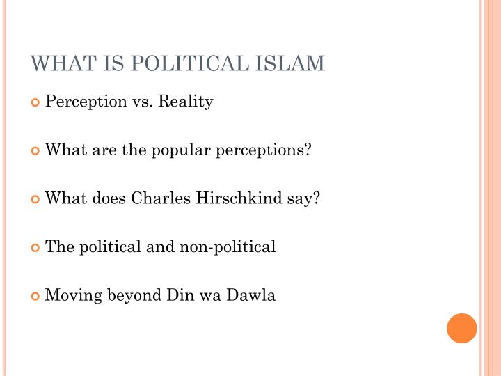 What is political islam