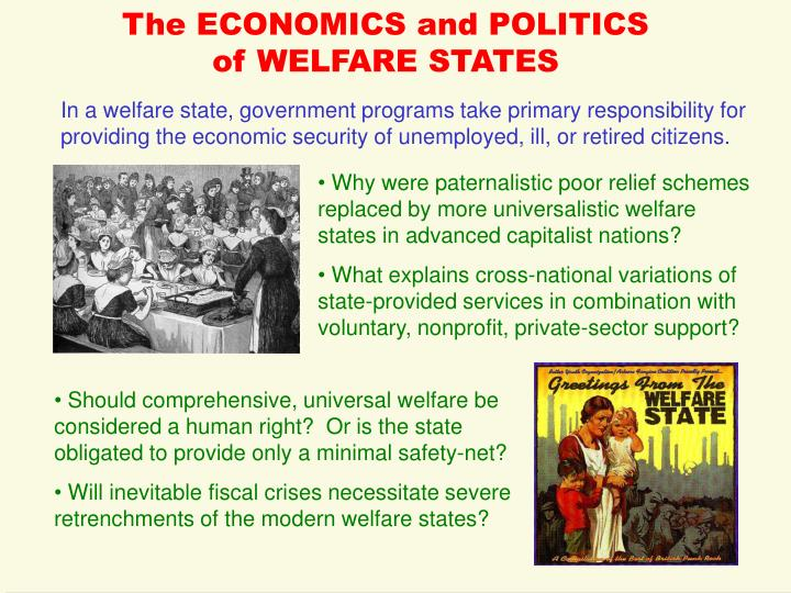 The economics and politics of welfare states l.jpg