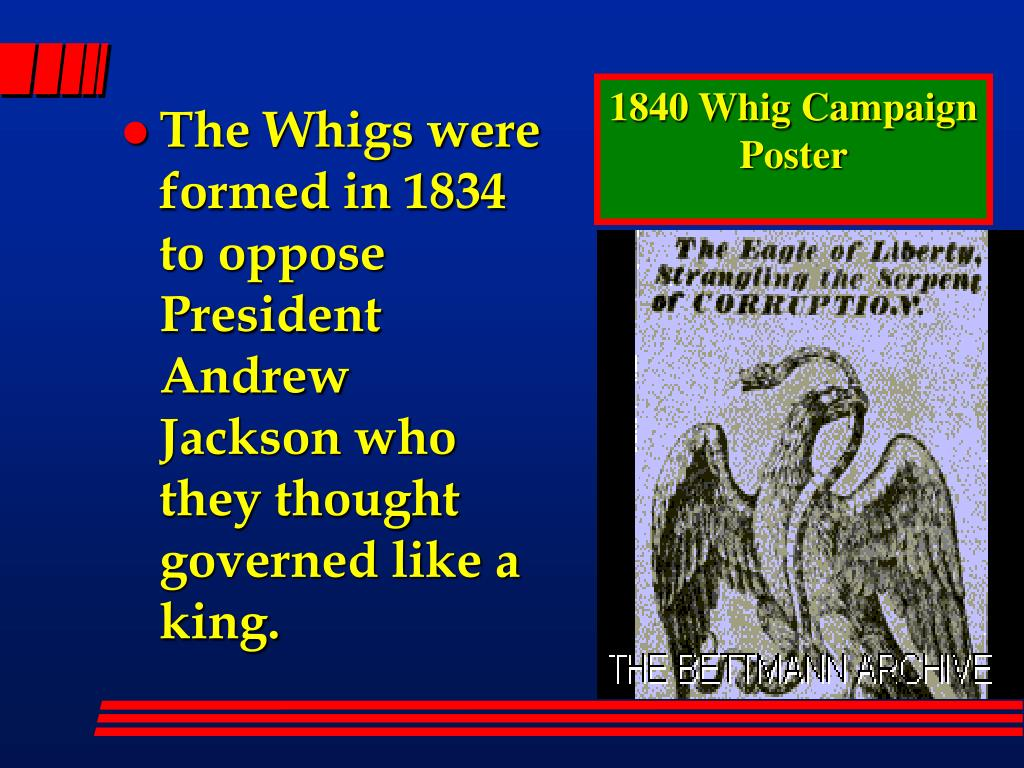 1840 Whig Campaign Poster
