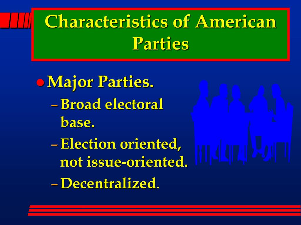 Characteristics of American Parties