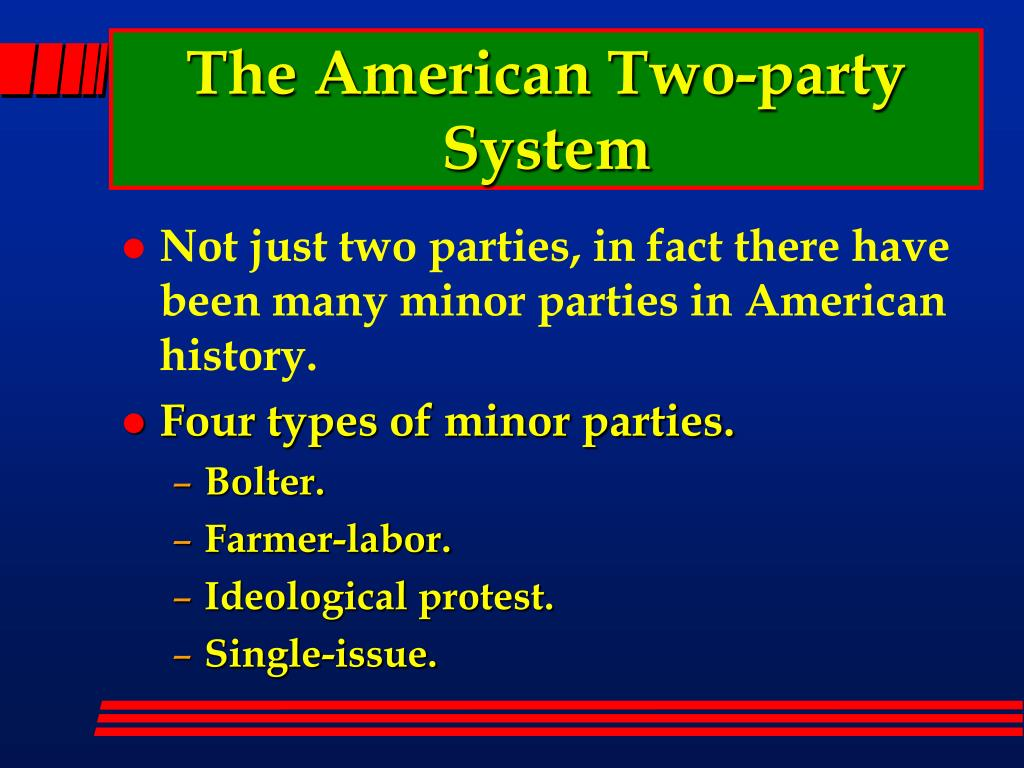 The American Two-party System