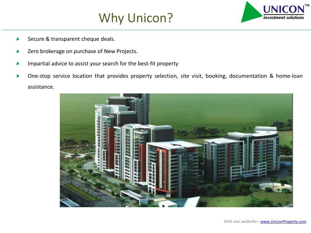 Why Unicon?
