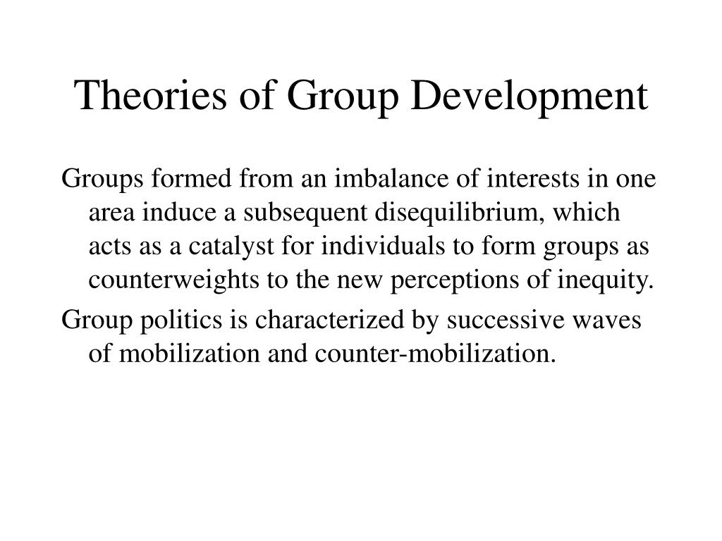 Theories of Group Development