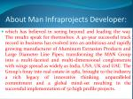 about man infraprojects developer