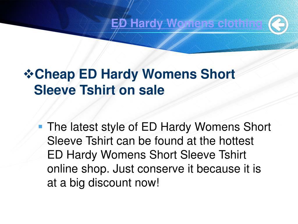 ED Hardy Womens