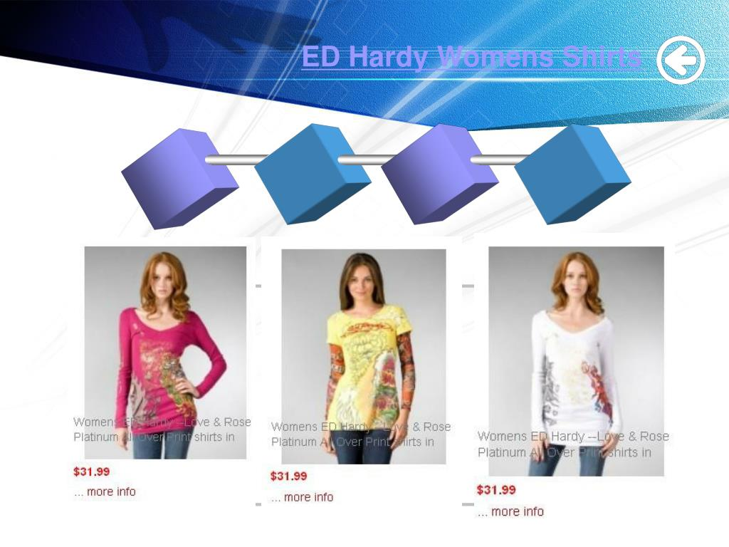 ED Hardy Womens Shirts