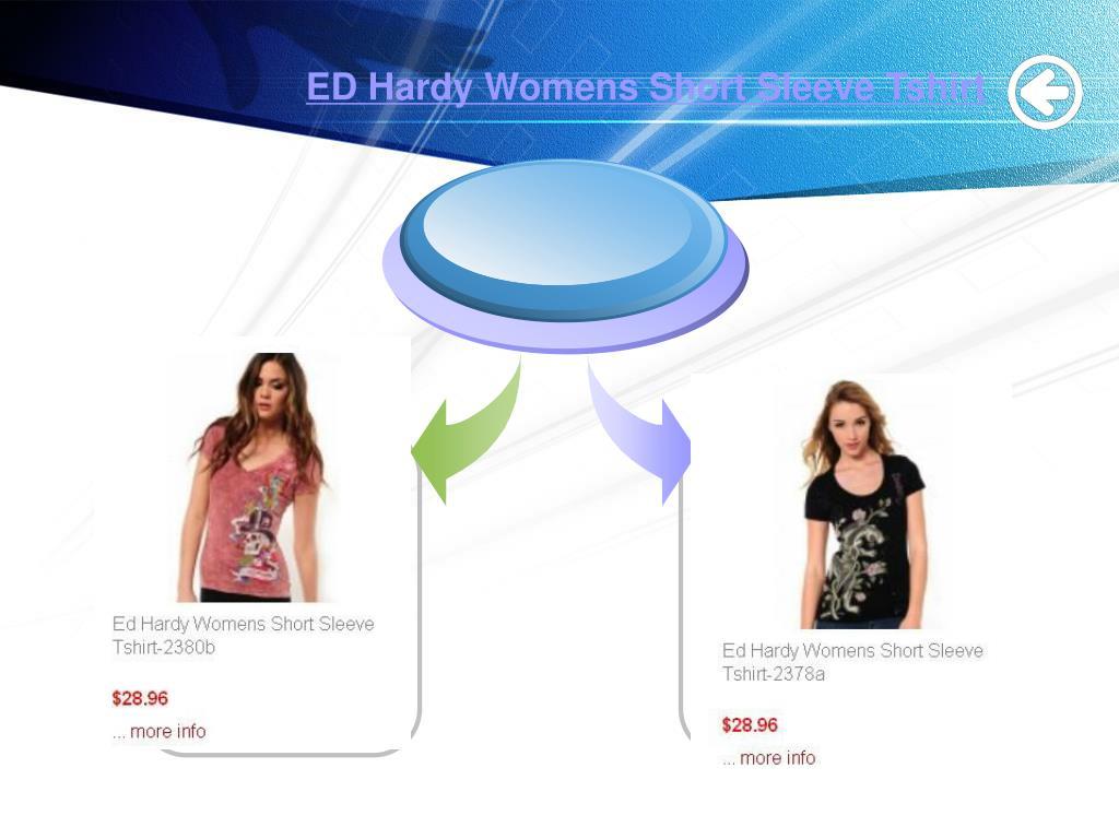 ED Hardy Womens Short Sleeve Tshirt
