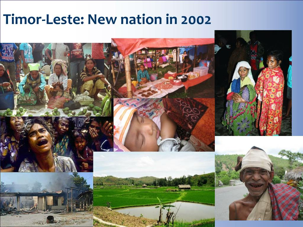 Timor-Leste: New nation in 2002