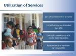 utilization of services